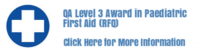 Level 3 Award in Paediatric First Aid (RFQ)