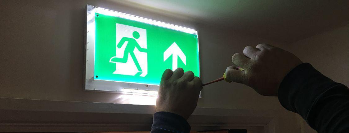 Emergency Light Installation